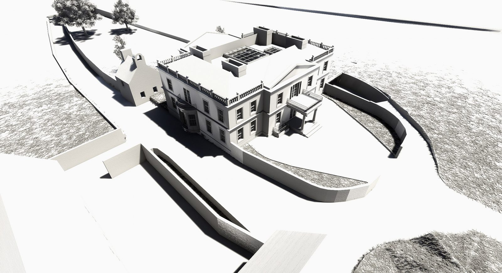 FT architecture georgian mansion new build architects jersey 14