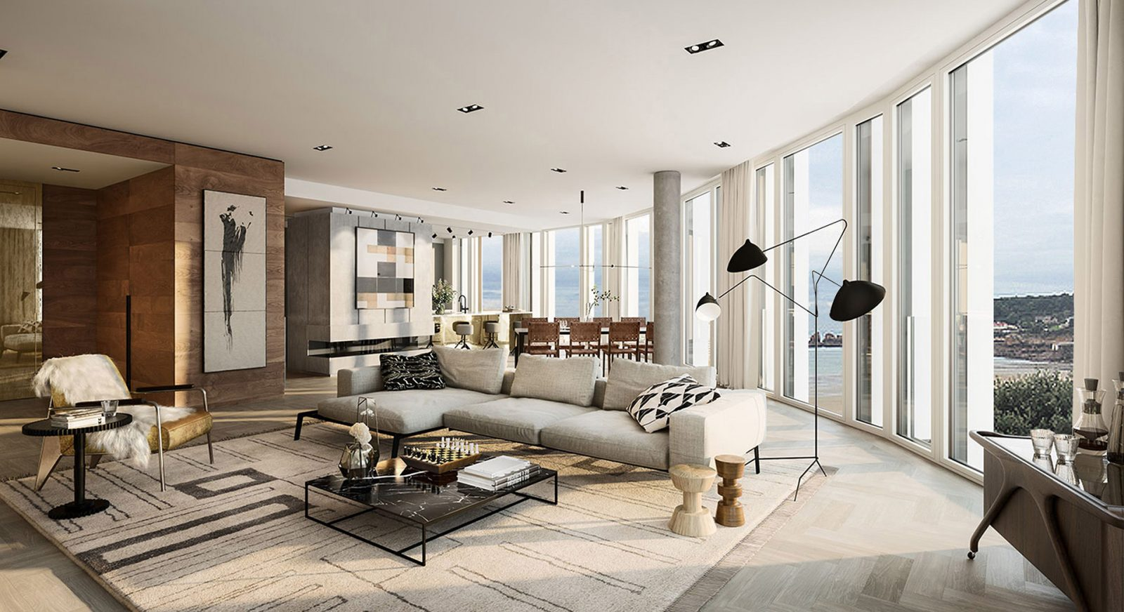 FT interiors st brelades bay modern hotel apartment building architecture architects jersey architects11