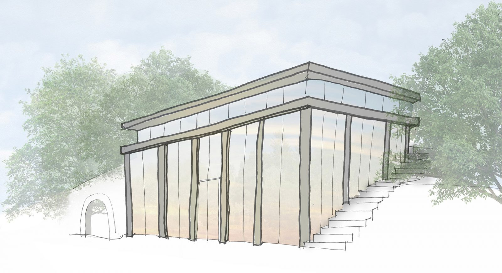 FT manor house orangery modern house architecture architects jersey architects11