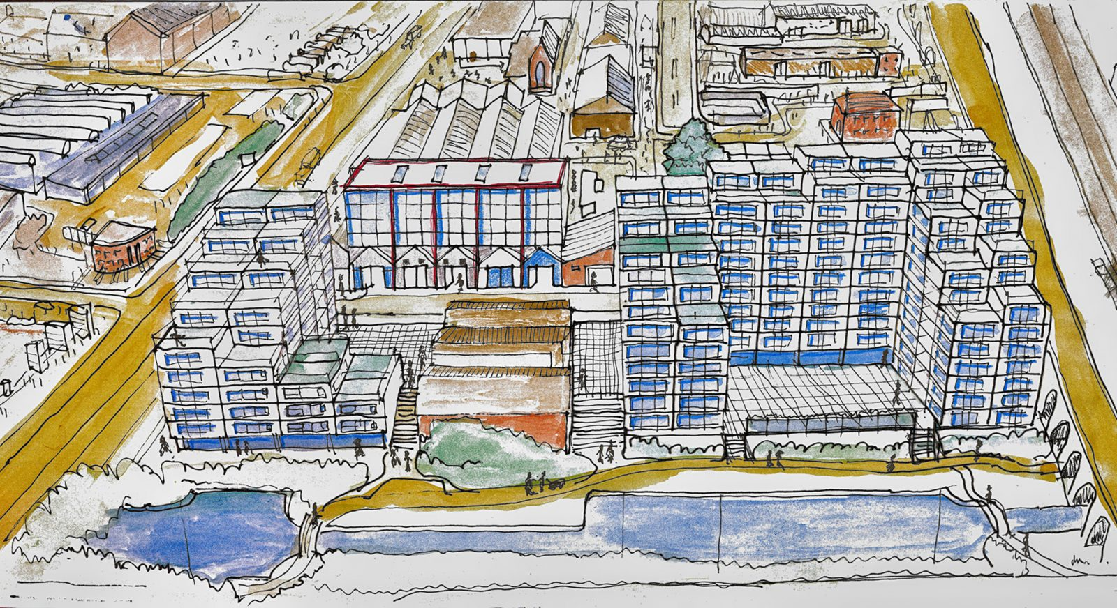 FT modern apartments masterplan water witch liverpool architects jersey12