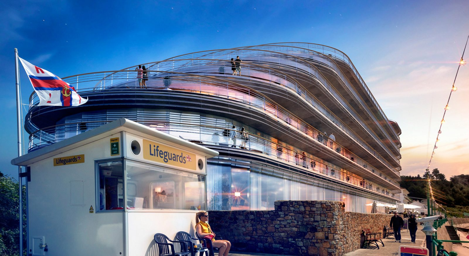 FT st brelades bay modern hotel apartment building architecture architects jersey architects13
