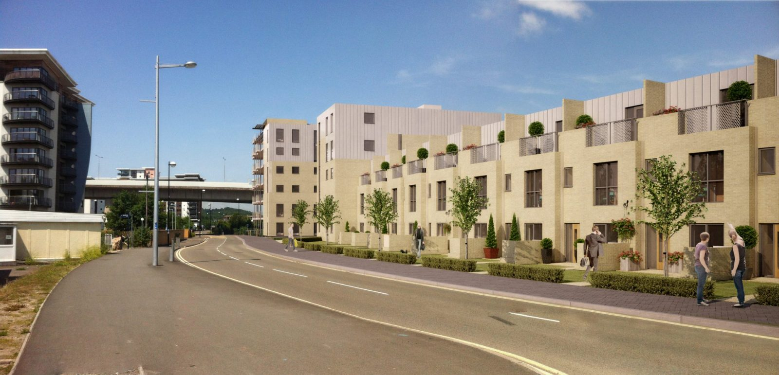 ISV offices residential modern apartments architecture cardiff architects jersey architects03