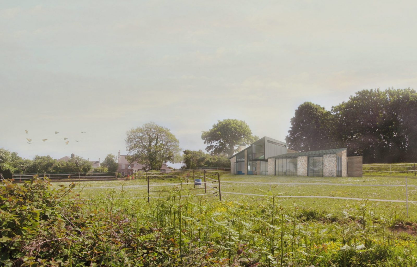 Jersey farm house modern architecture architects jersey architects1 1