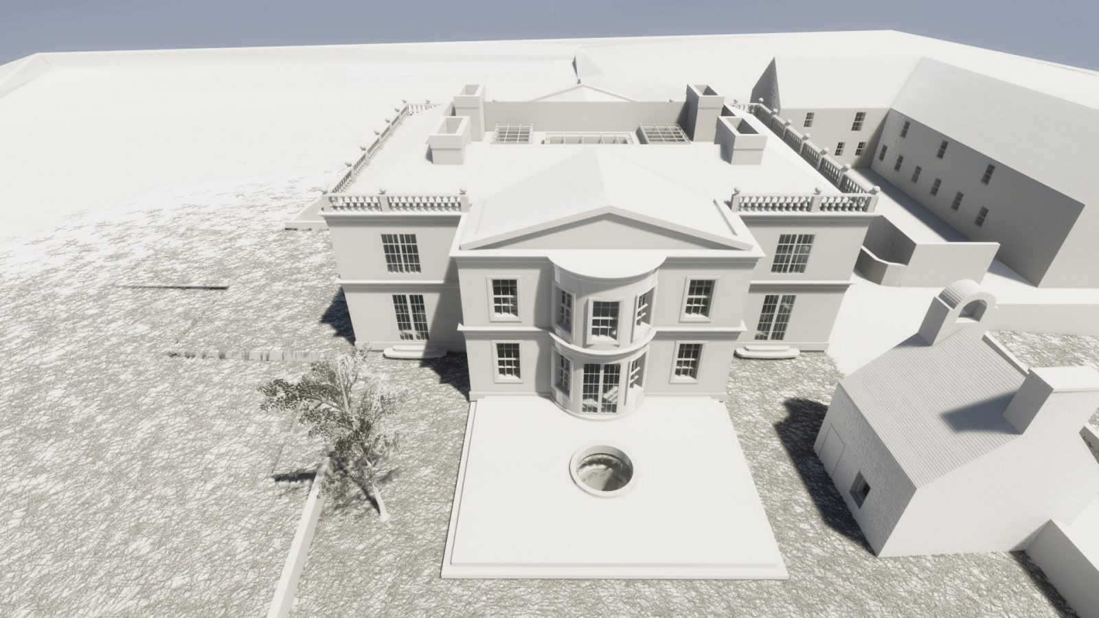 architecture georgian mansion new build architects jersey 1