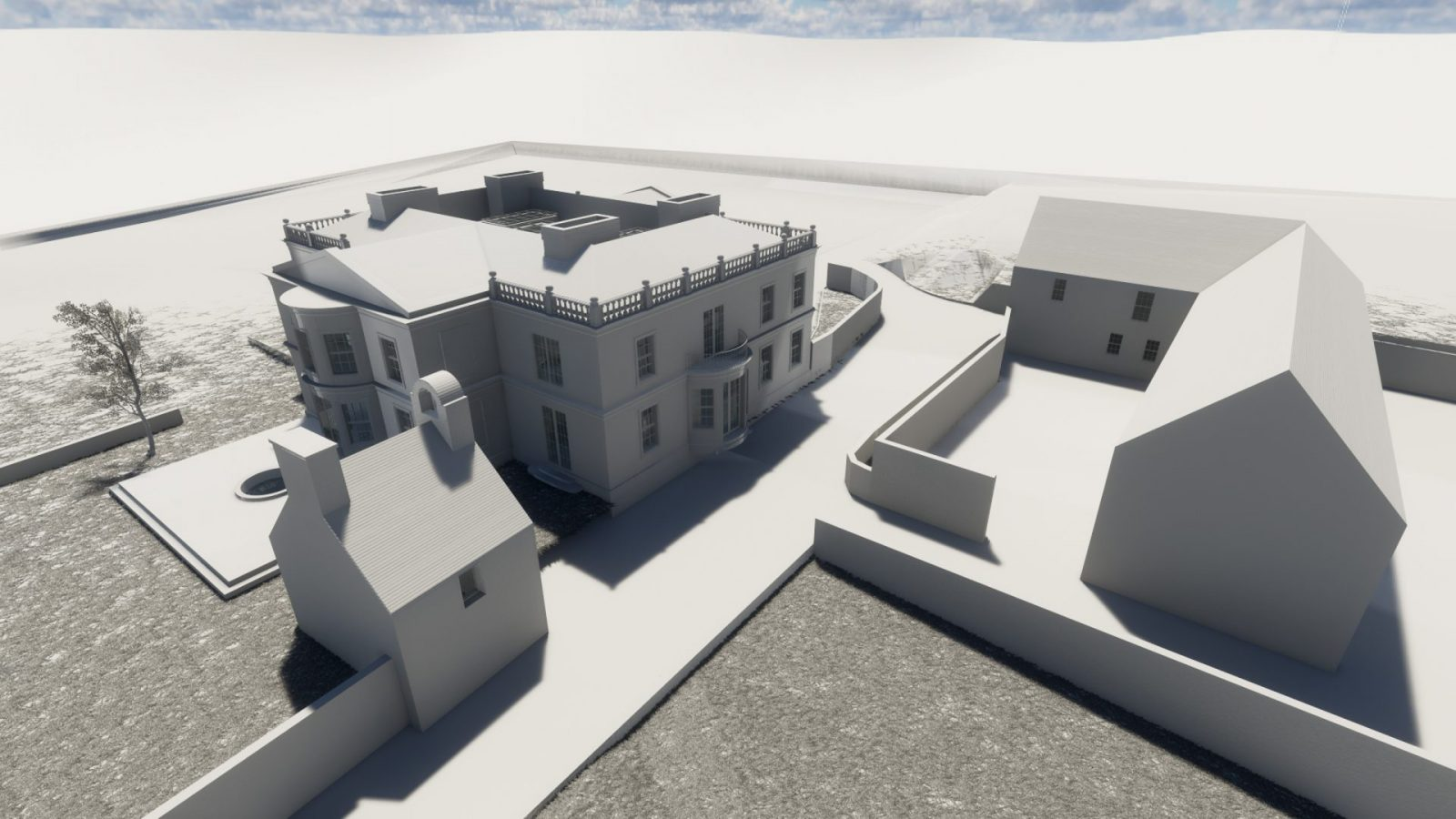 architecture georgian mansion new build architects jersey 3