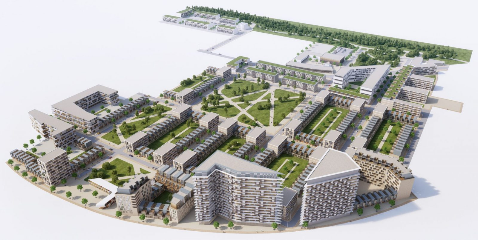 dumballs road masterplan cardiff modern apartment building architects jersey 2