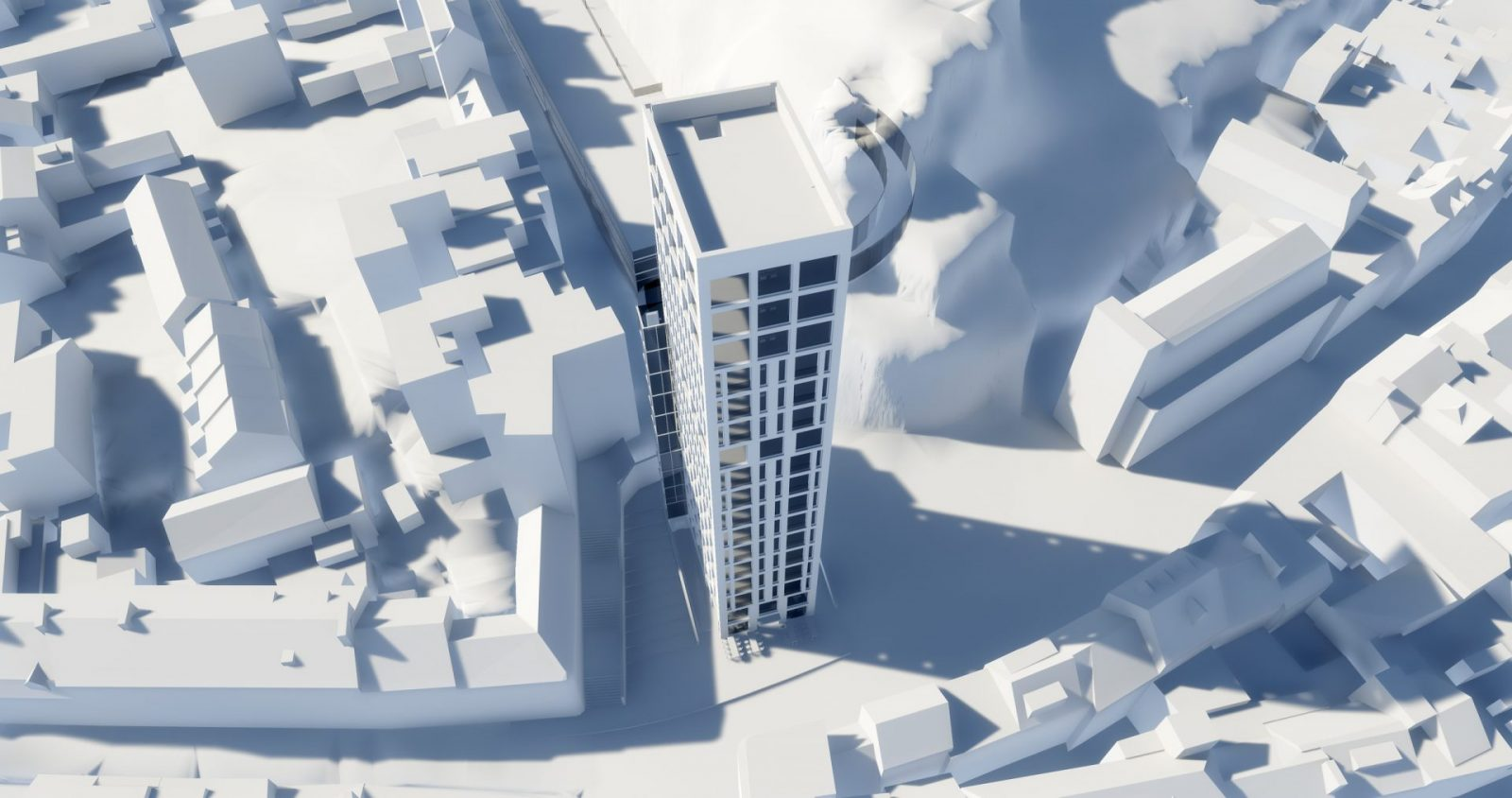 snow hill tower st helier apartment building architecture architects jersey architects1