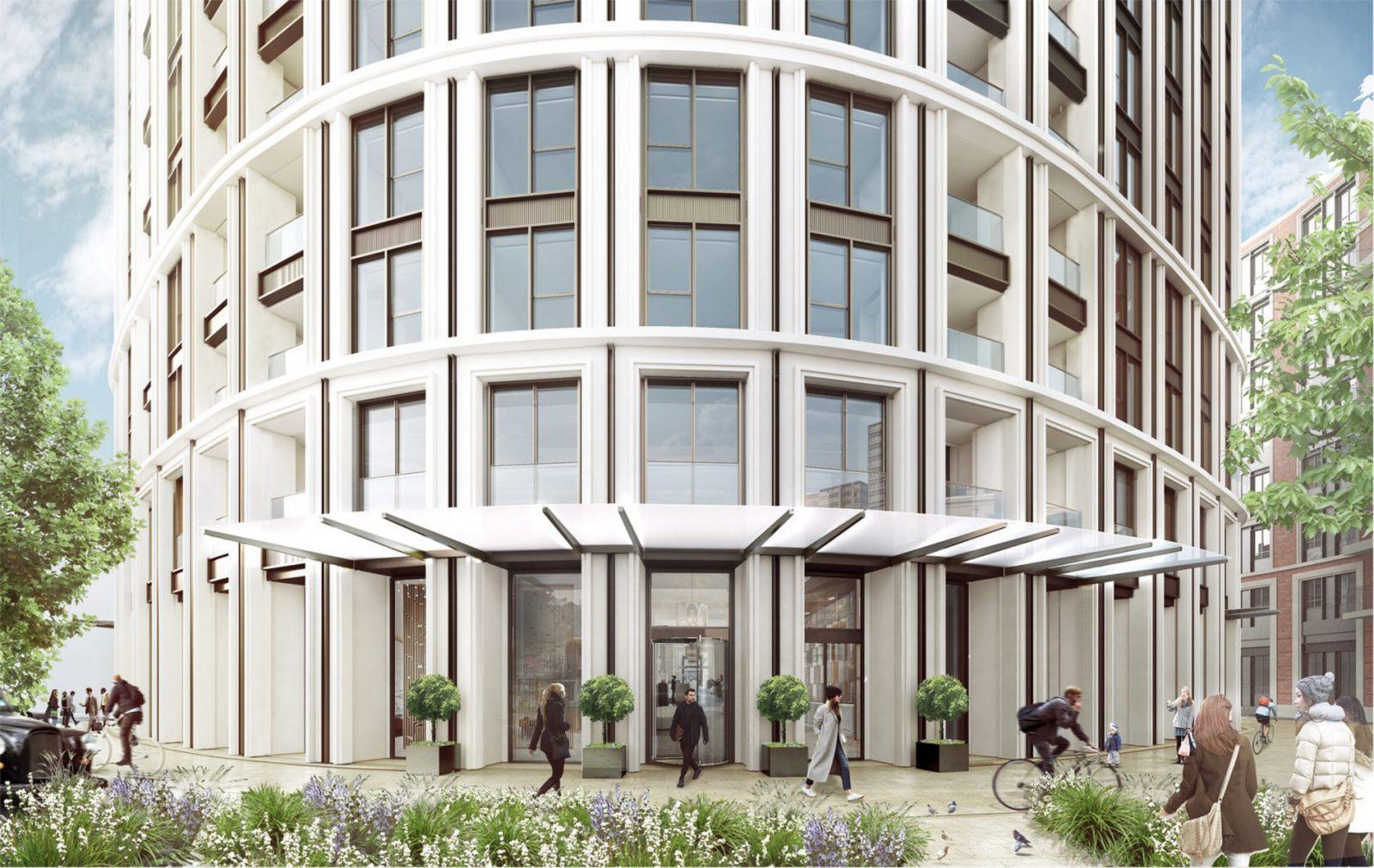 westmark tower london modern georgian architecture berkeley homes architects jersey7