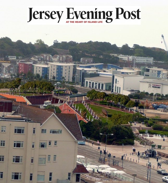 Park Bridge Esplanade Quarter St Helier waterfront Jersey architects jersey evening post 7