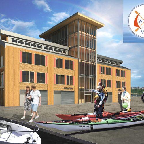Barry Water Sports Activity Centre Barry Quary Marina Developments jersey architects copy