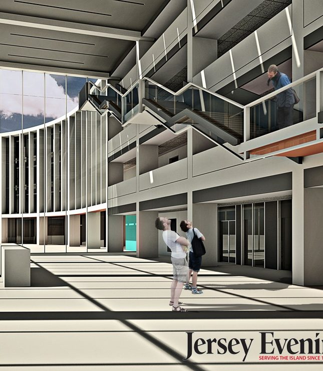 jersey les quennevais secondary school architects interior render 740 marketing