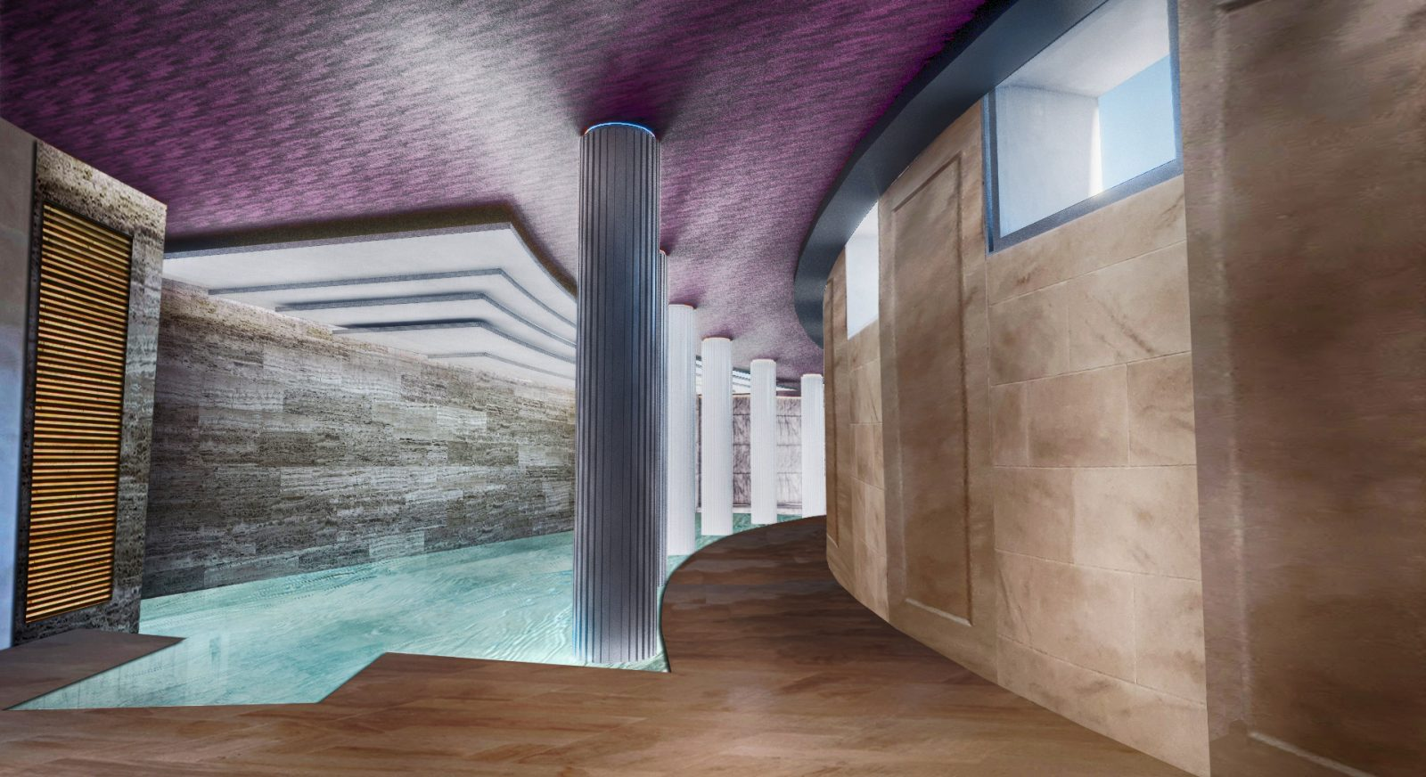 FT OSP modern basement swimming pool architecture architects jersey architects12