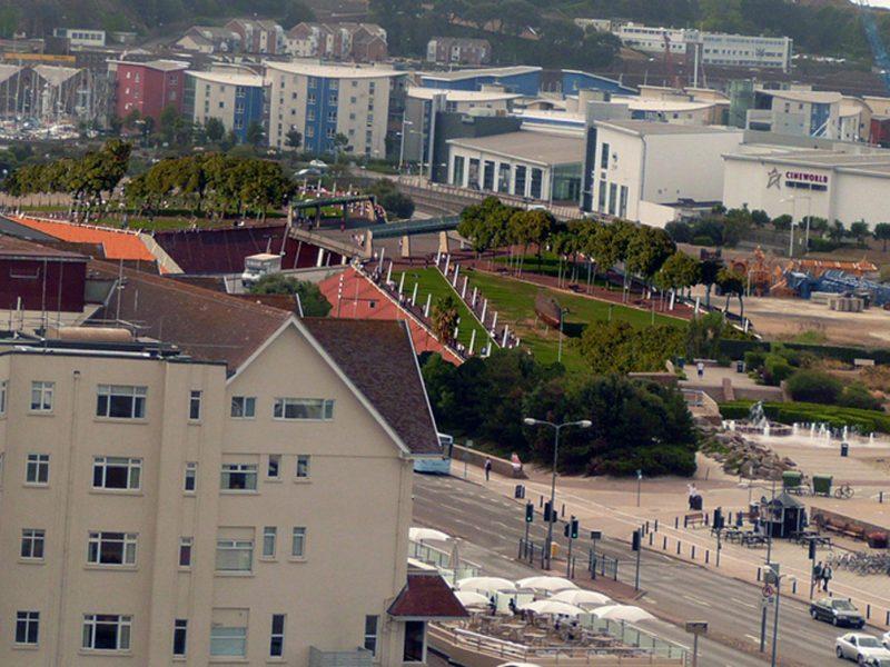 FT Park Bridge Esplanade Quarter St Helier waterfront Jersey architects 17