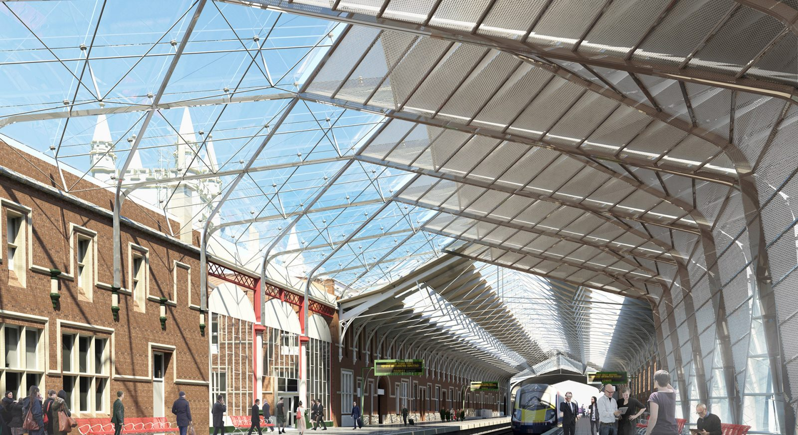 FT bristol temple meads regeneration london platform entrance canopy architects jersey architects13