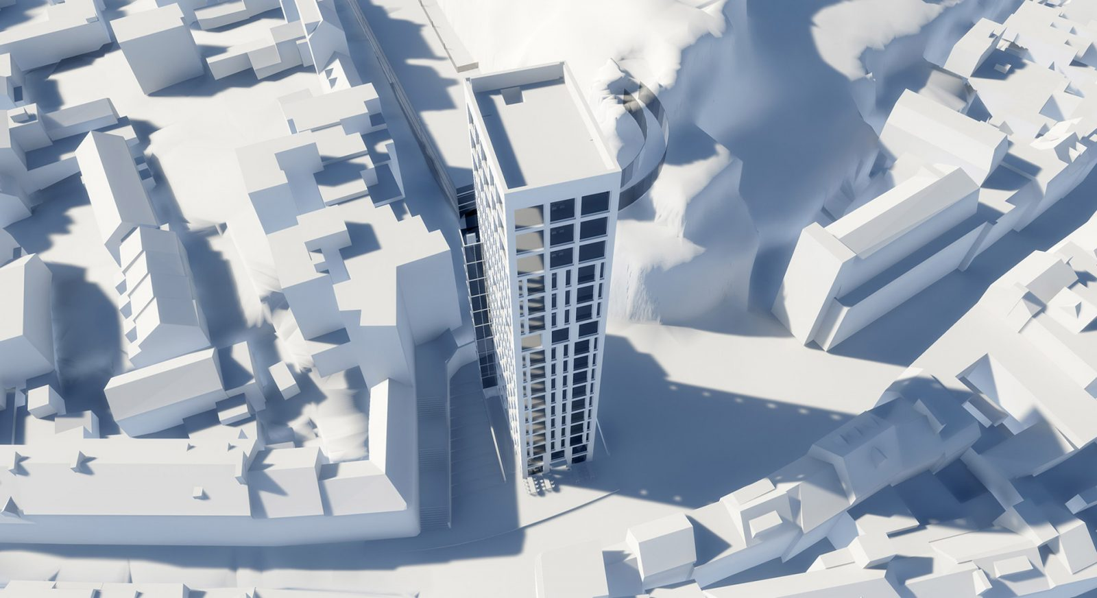 FT snow hill tower st helier apartment building architecture architects jersey architects11