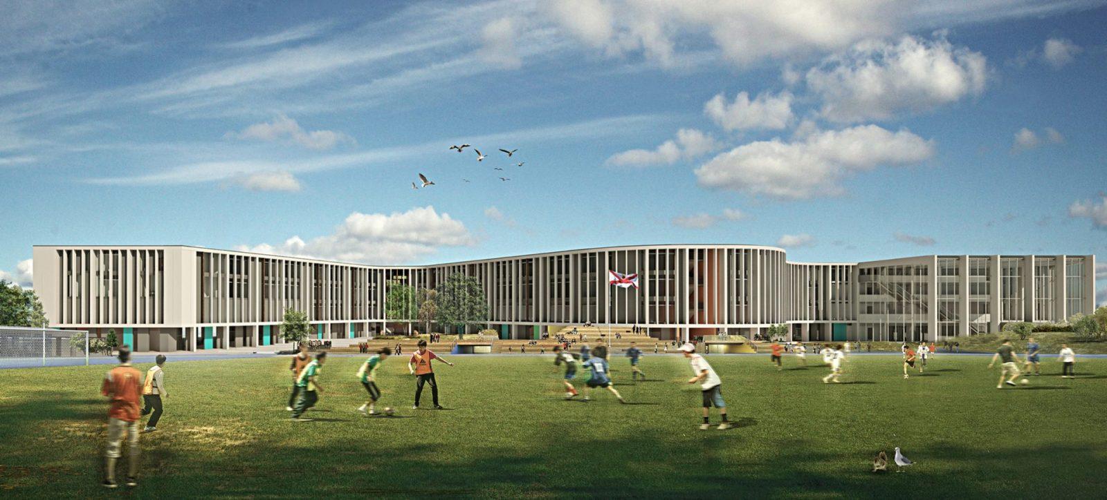 Les Quennevais Secondary School Jersey Architects
