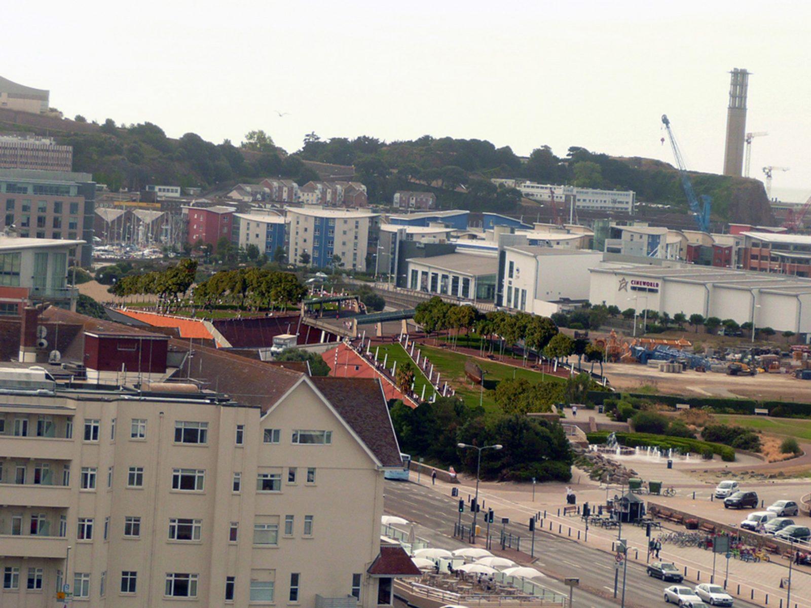 Park Bridge Esplanade Quarter St Helier waterfront Jersey architects 7