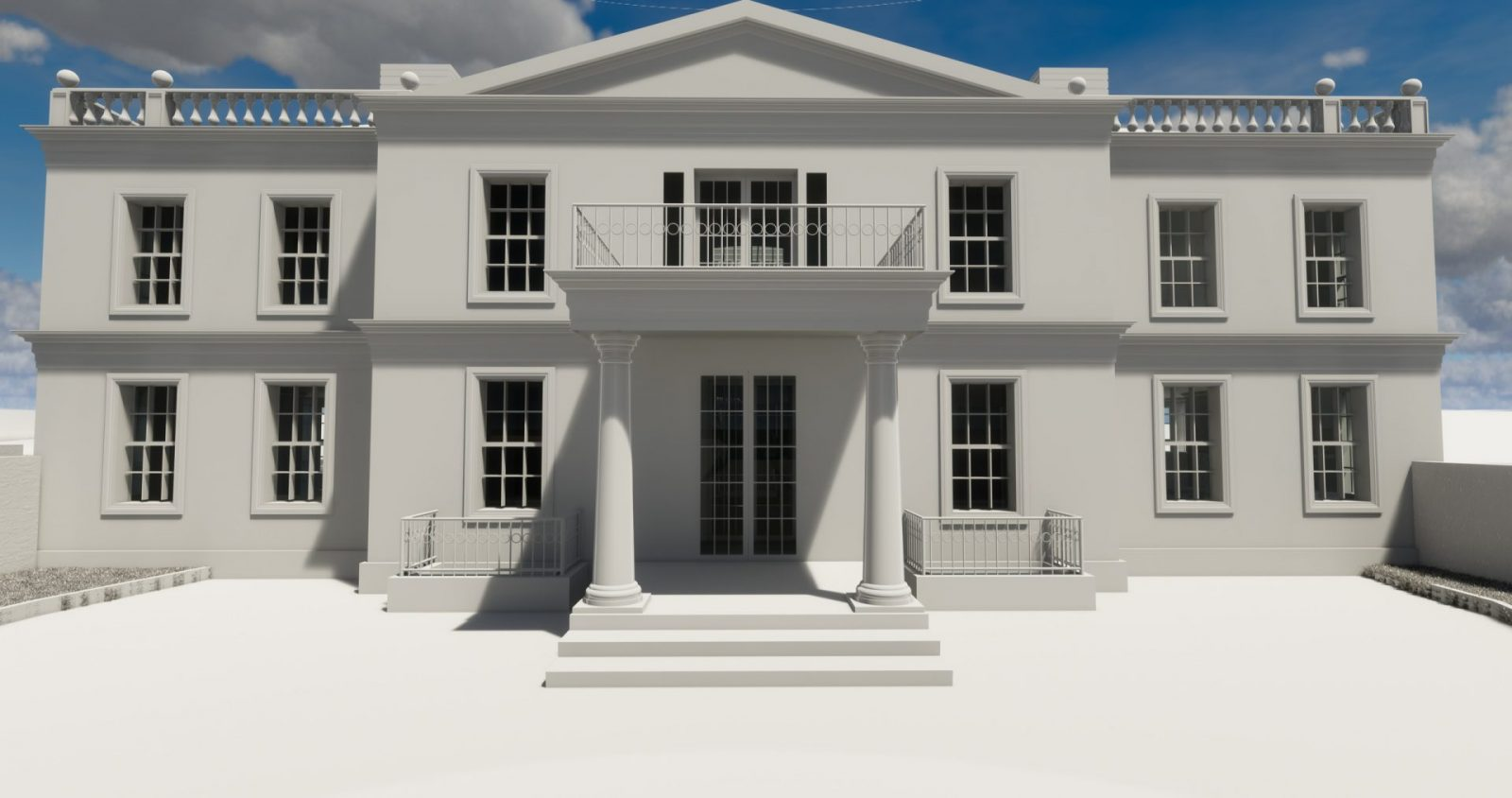 architecture georgian mansion new build architects jersey 2