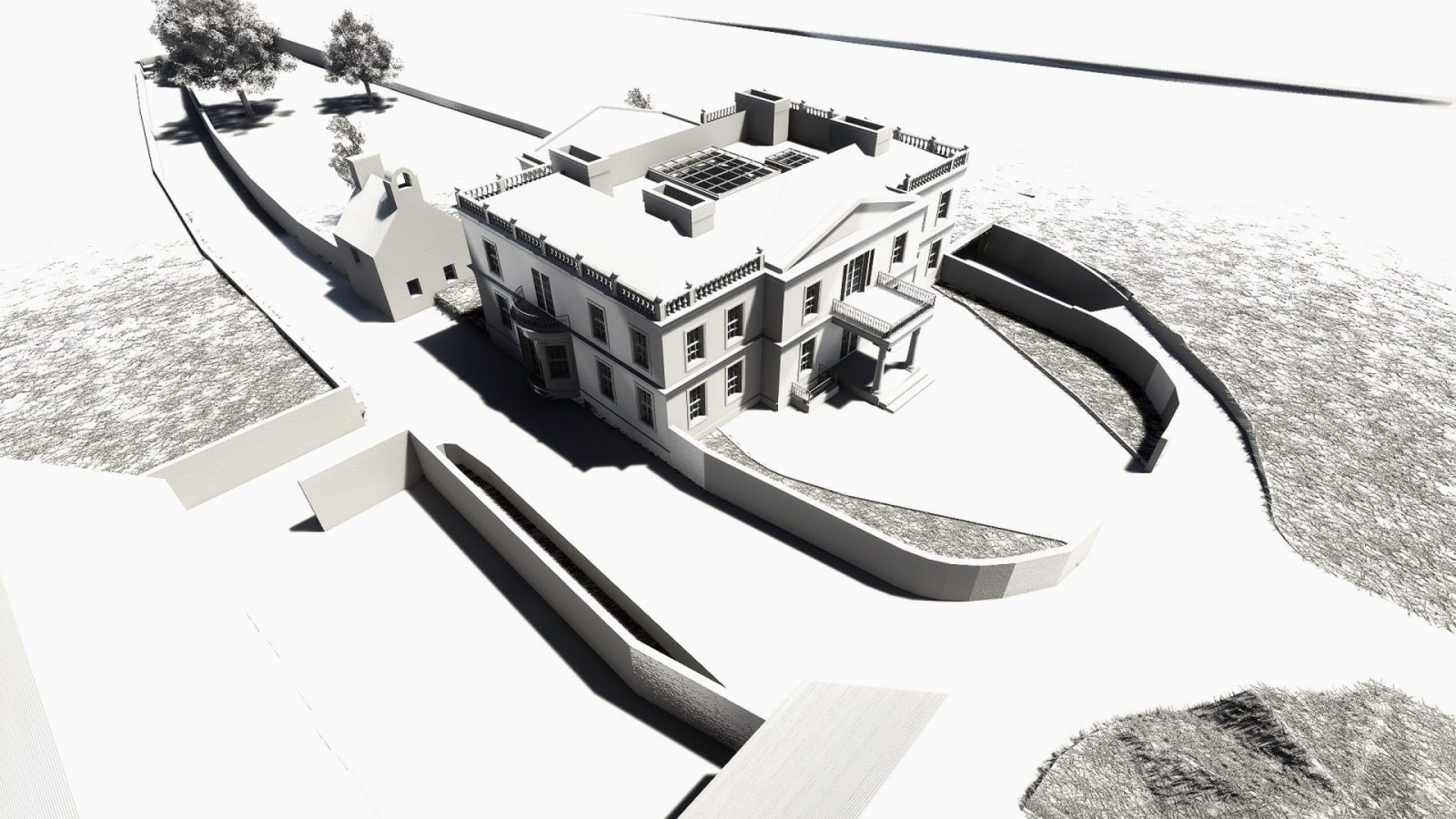 architecture georgian mansion new build architects jersey 4