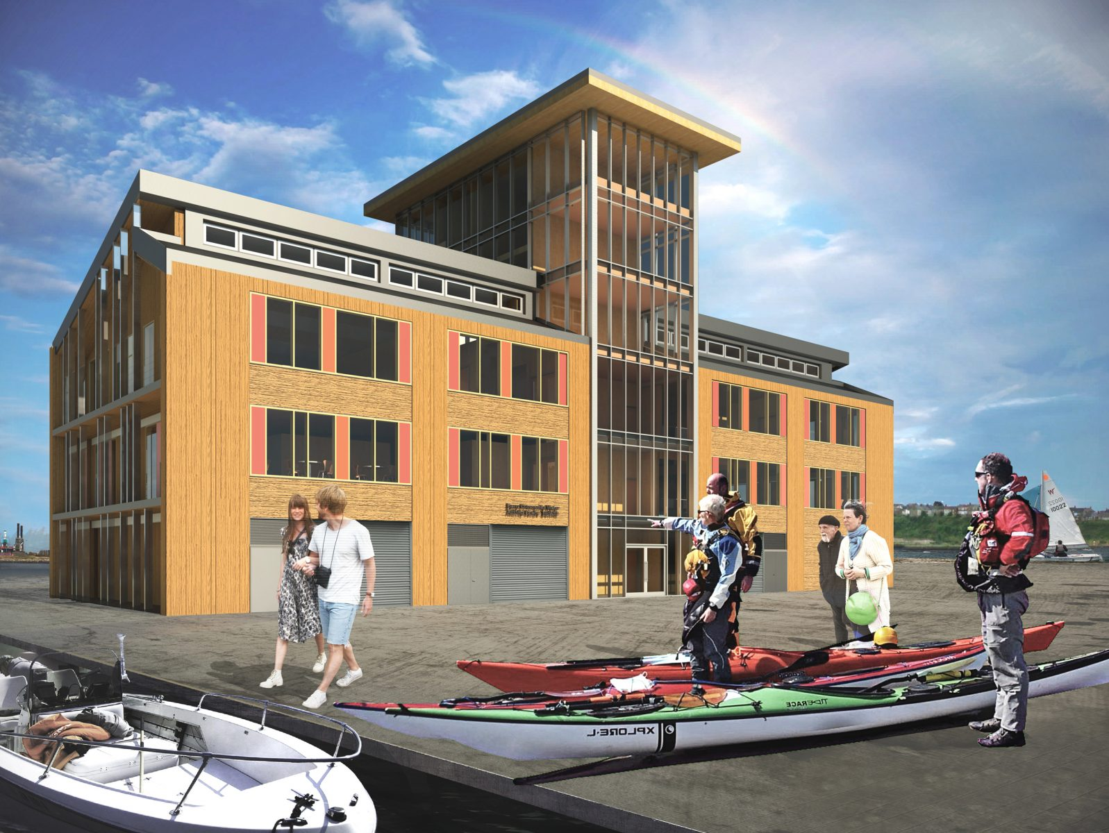 barry water activity centre cardiff architects jersey2
