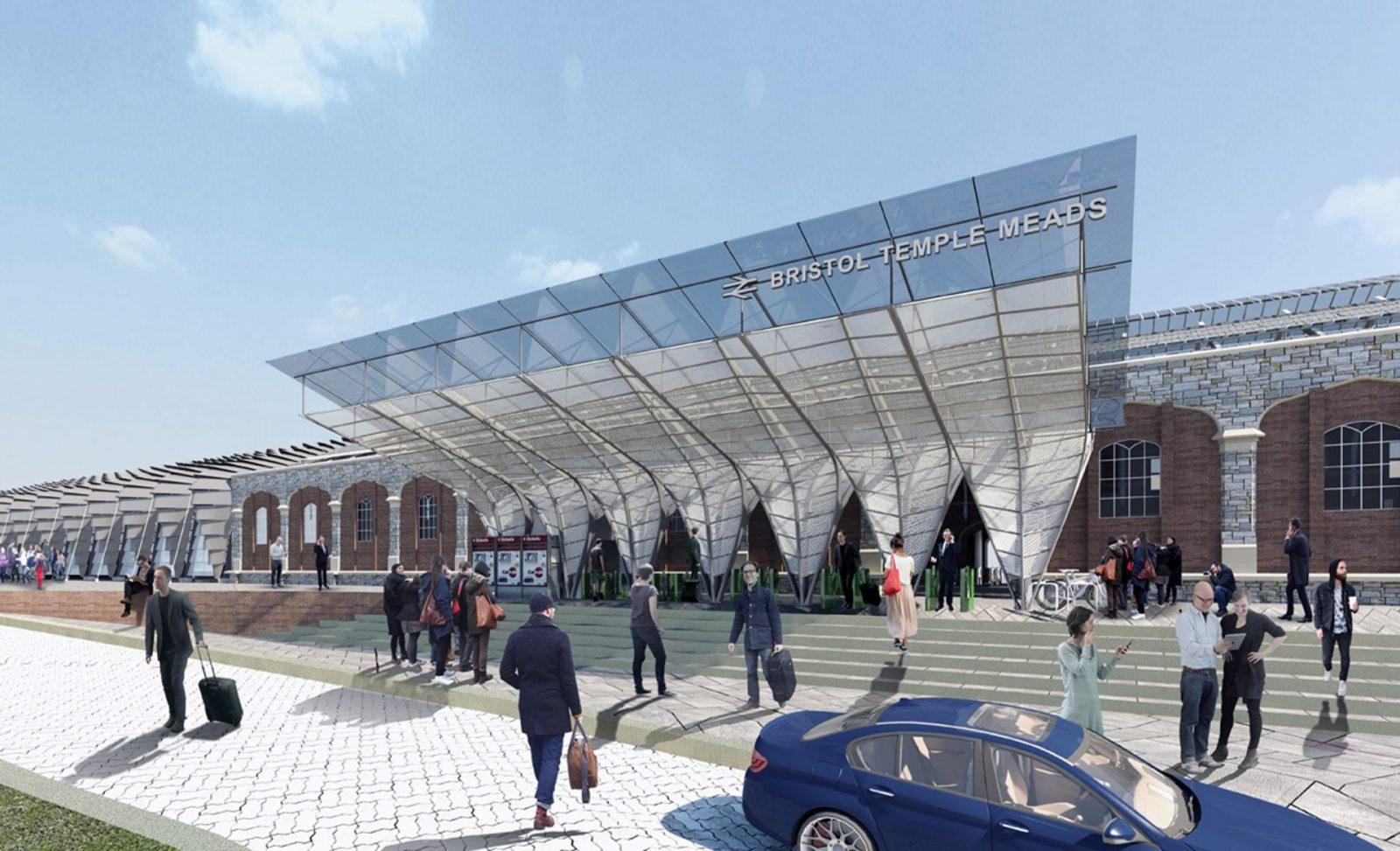 bristol temple meads regeneration london platform entrance canopy architects jersey architects1 1