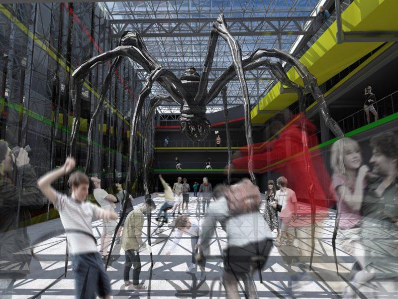 digital art installation interior architecture bristol architects jersey1