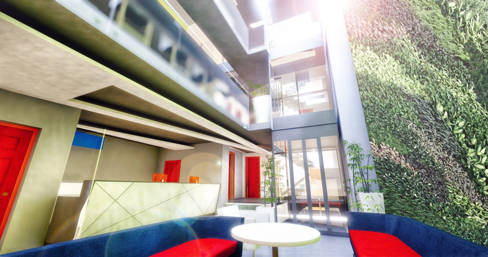 hill street st helier offices refurb interiors architects jersey architecture7