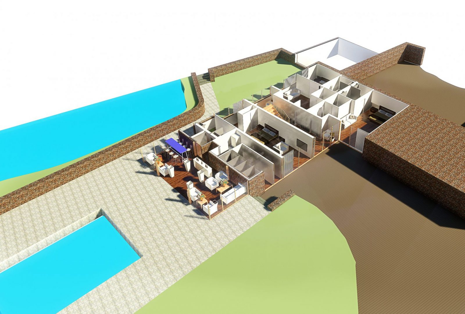 jersey hotel annex extension hospitality architecture jersey architects11