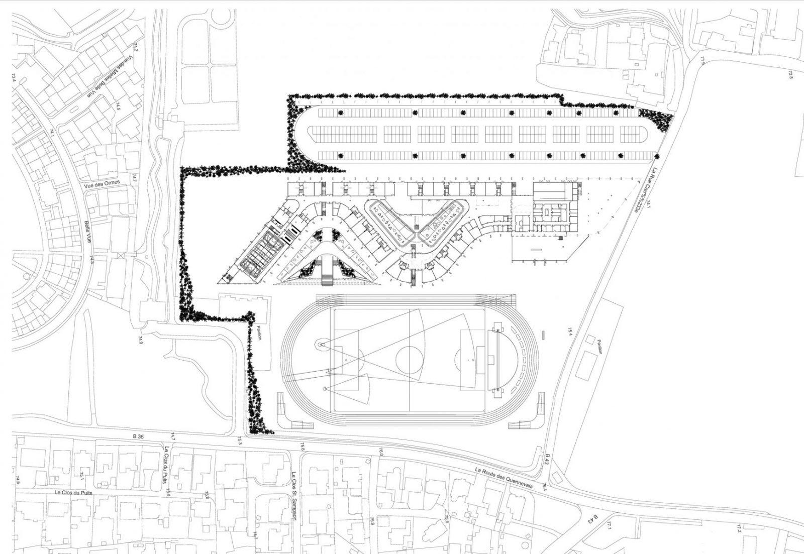 les quennavais school modern architecture st brelade jersey architecture3