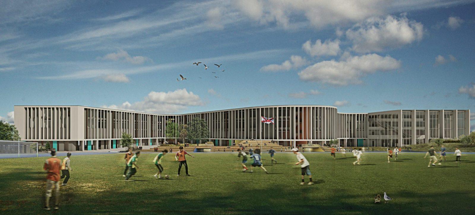 les quennavais school modern architecture st brelade jersey architecture4 1