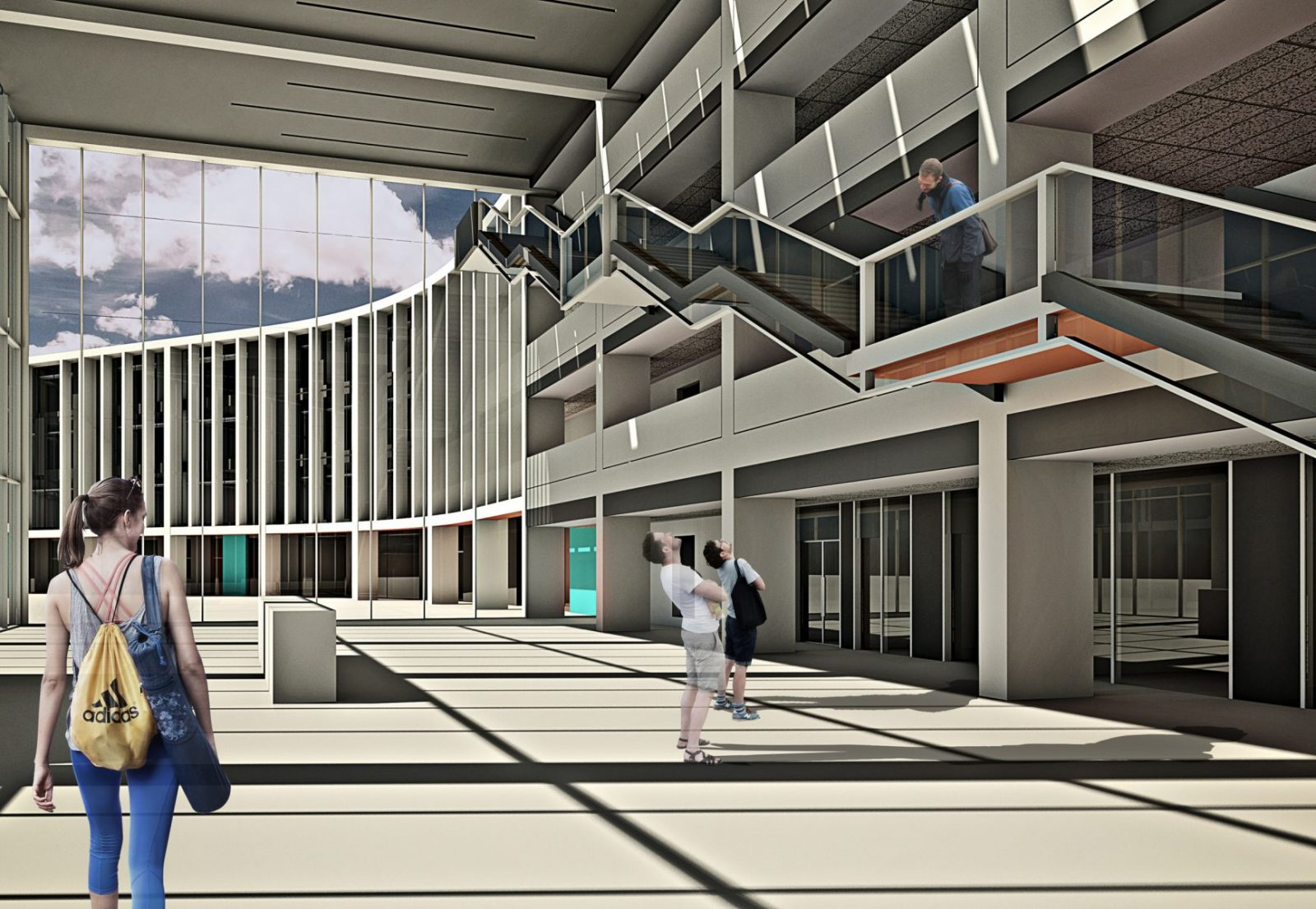 les quennavais school modern architecture st brelade jersey architecture6