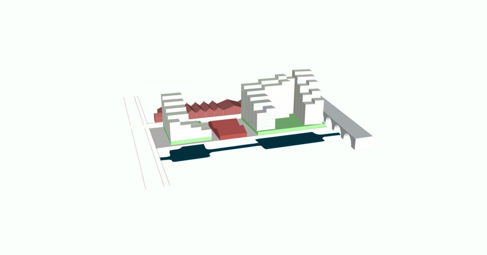 modern apartments masterplan water witch liverpool architects jersey5