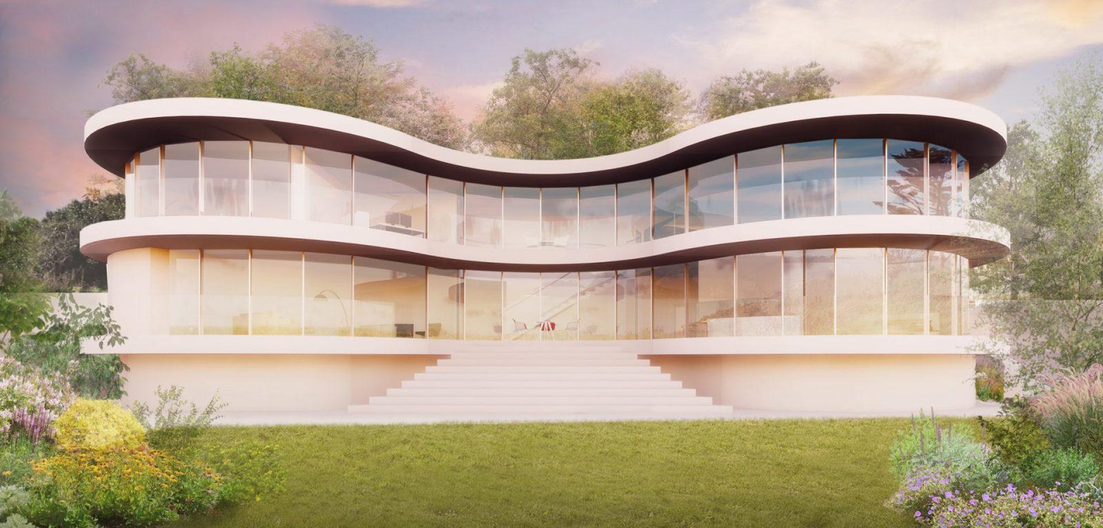 modern curvy house architecture guernsey architects jersey architects1
