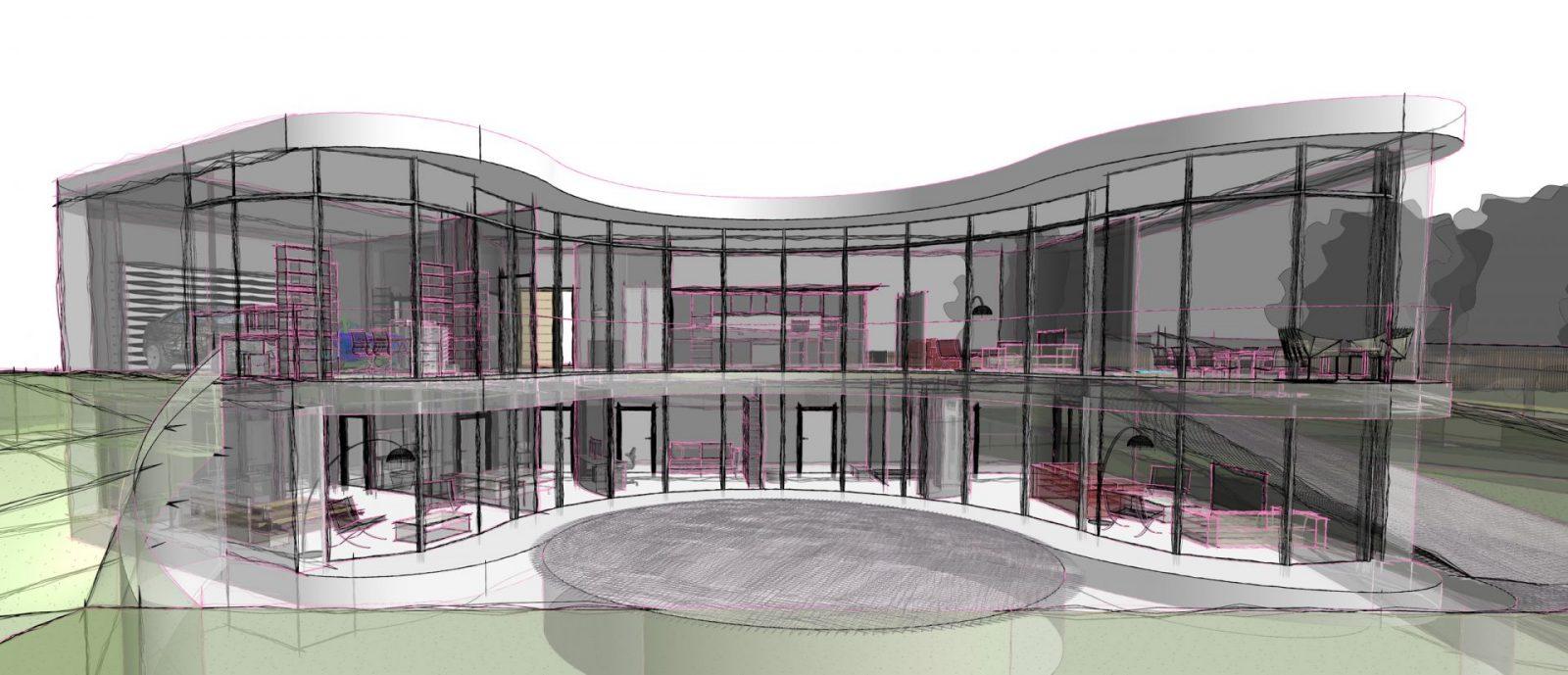modern curvy house architecture guernsey architects jersey architects3