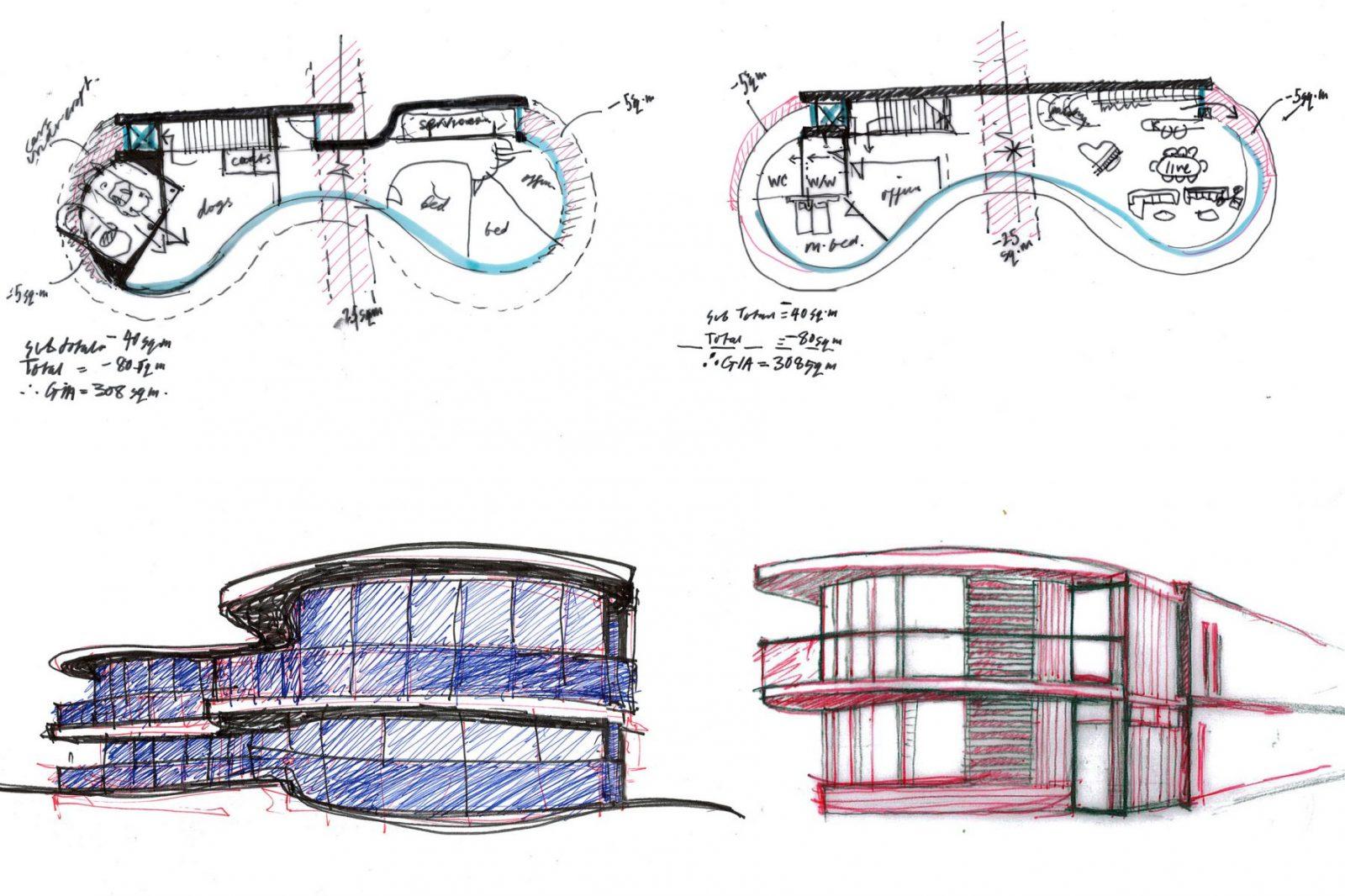 modern curvy house architecture guernsey architects jersey architects4