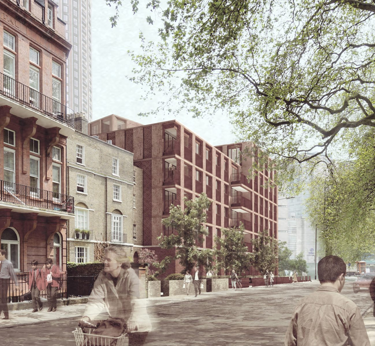 paddington green london residential apartments architecture jersey architects12