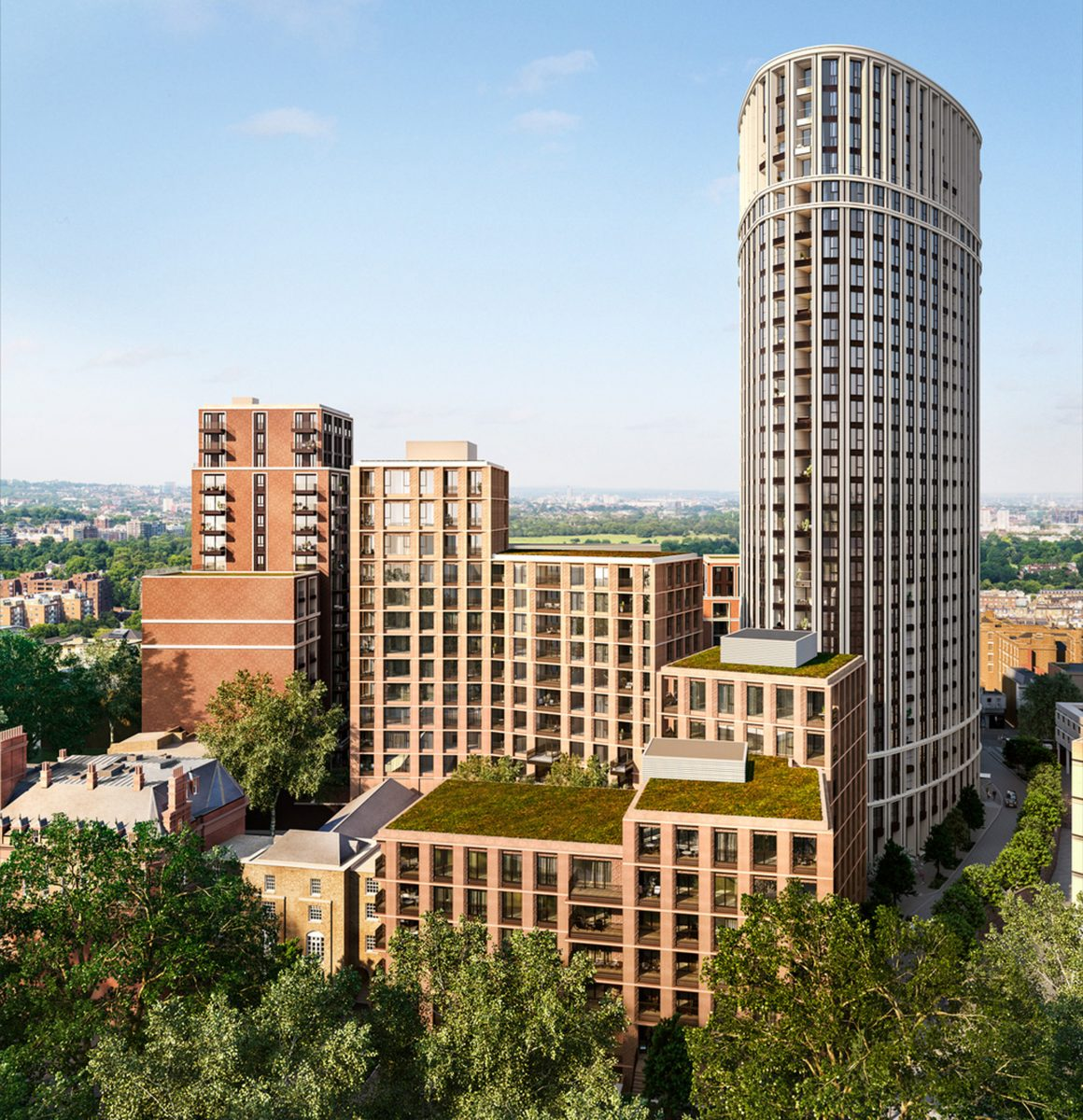 paddington green london residential apartments architecture jersey architects19