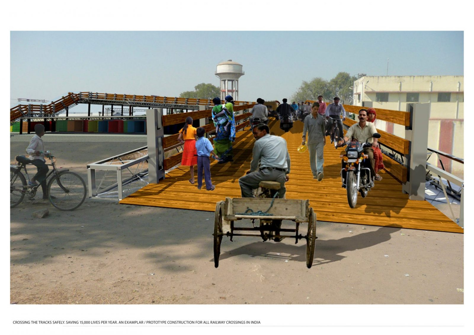 reused indian railway construction material architecture jersey architects4