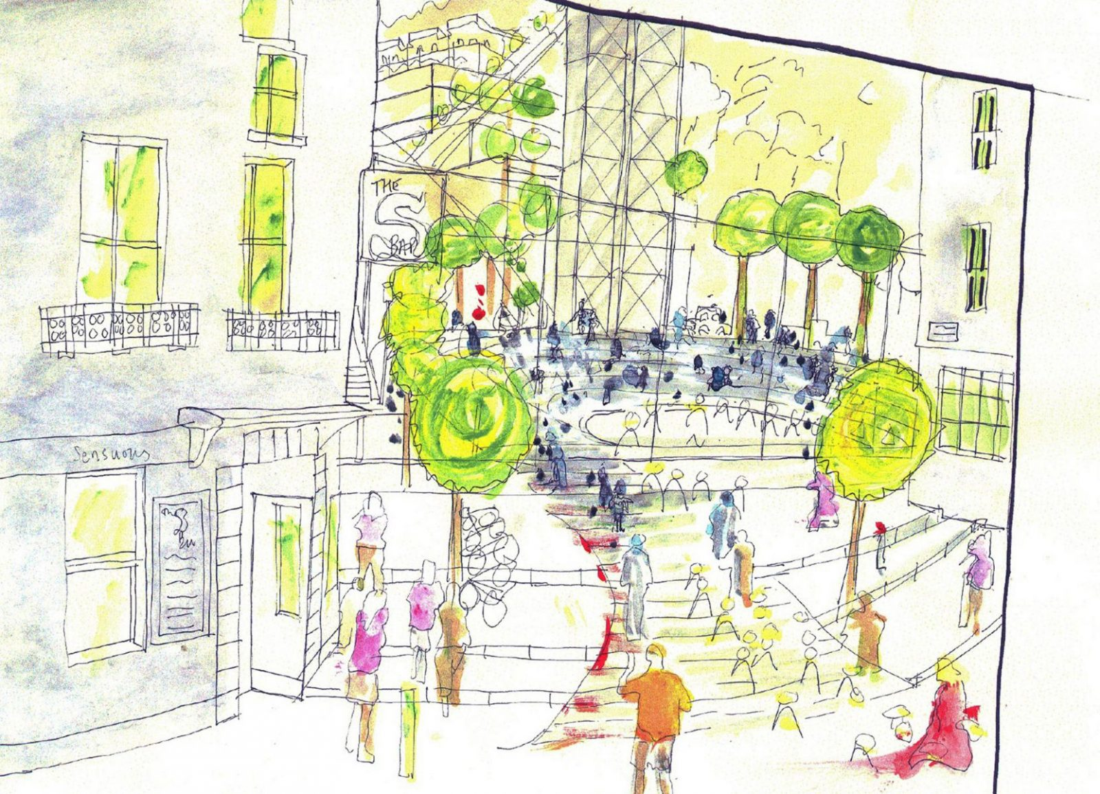 snow hill regeneration st helier masterplan jersey architects1 Page 1