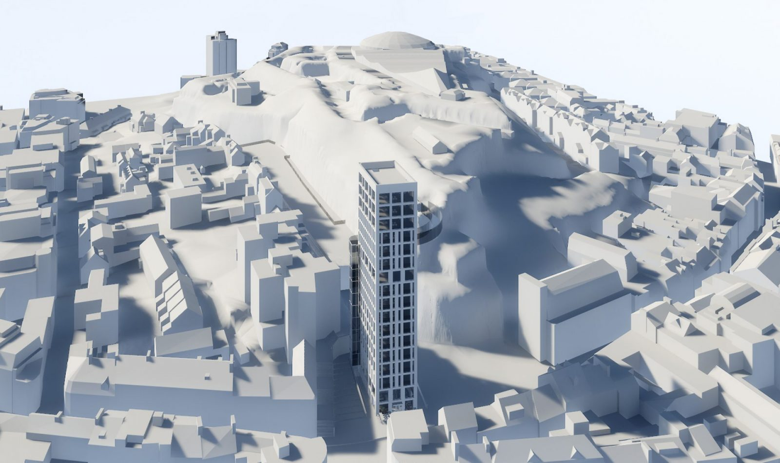 snow hill tower st helier apartment building architecture architects jersey architects4
