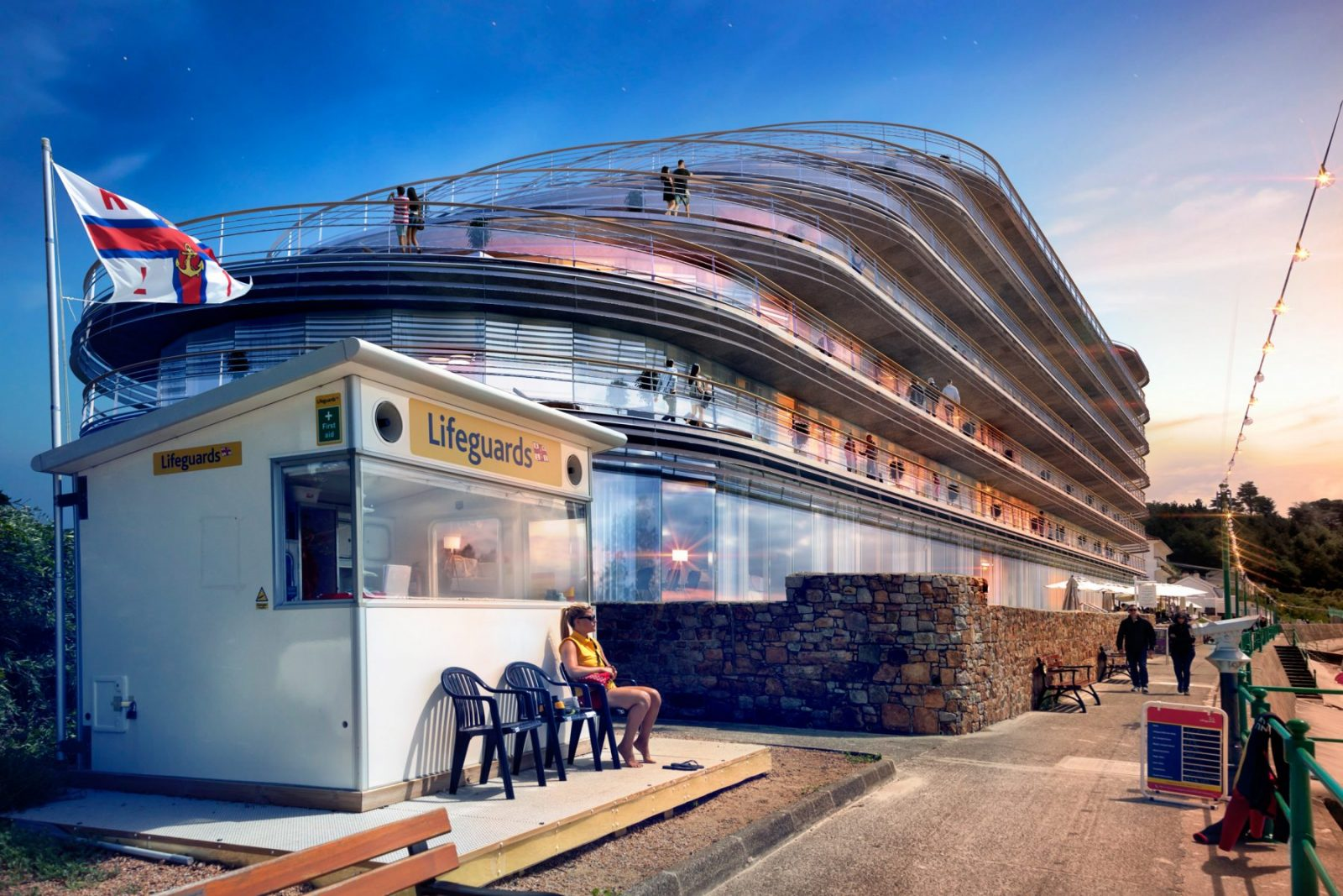 st brelades bay modern hotel apartment building architecture architects jersey architects3