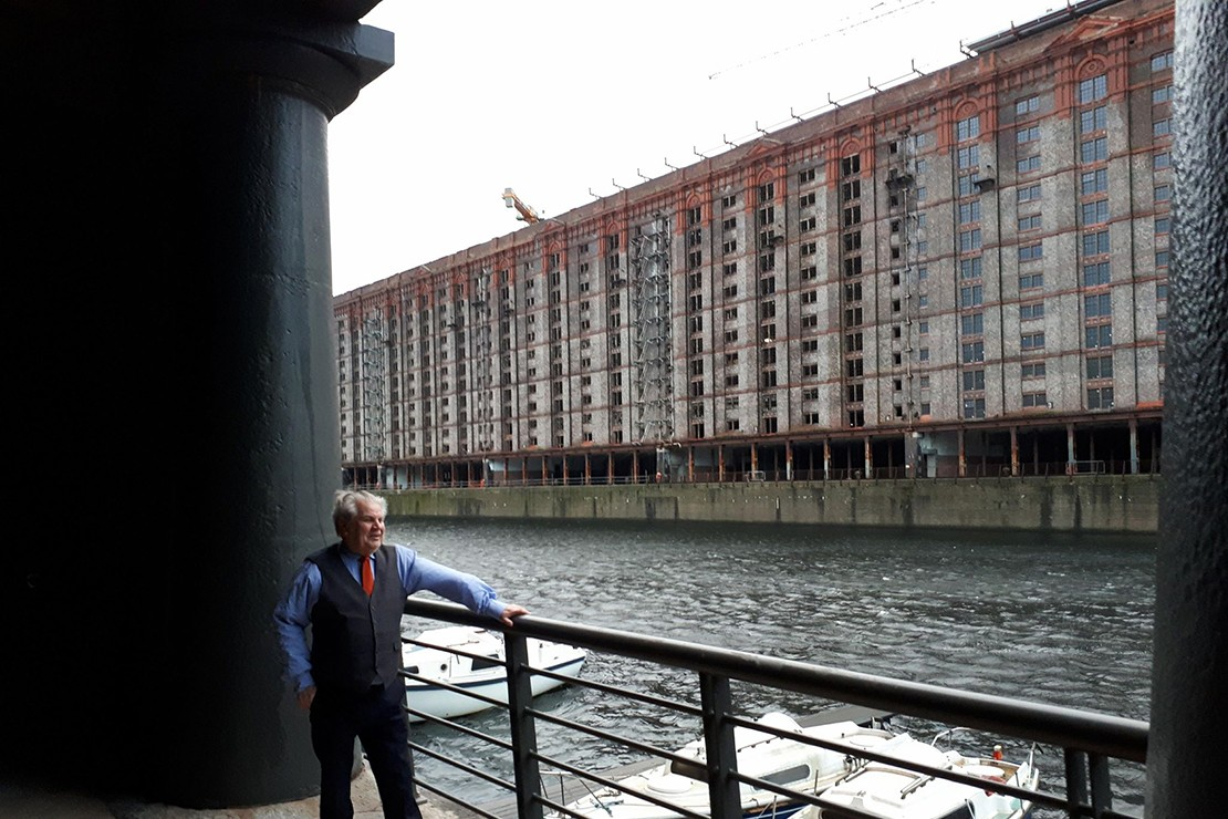 Jersey Architects visit Liverpool Titanic and Tabaco