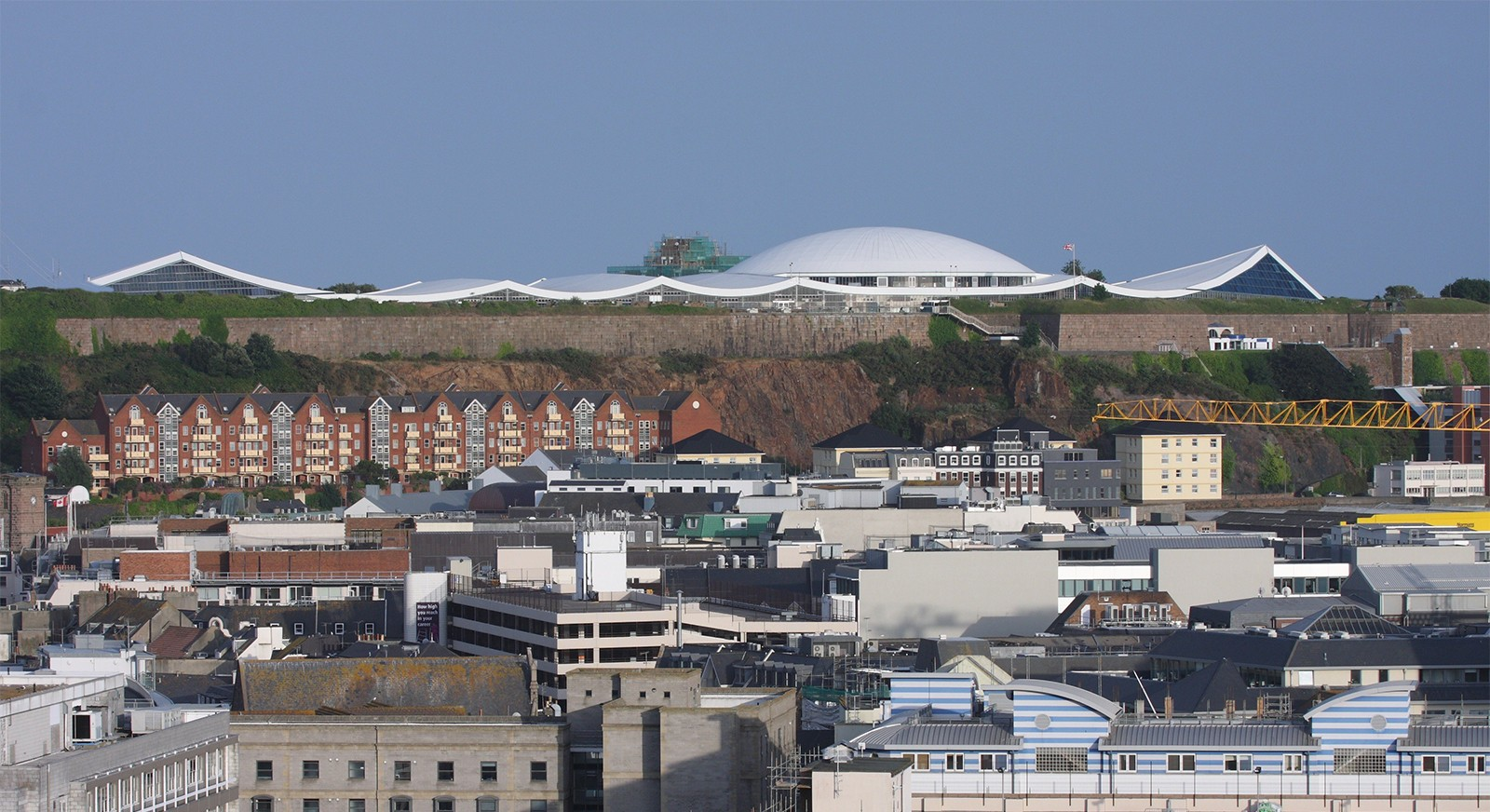 Fort Regent-St Helier-Jersey-Architects